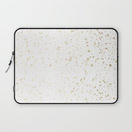 Los Angeles Nights Gold Paint Laptop Sleeve