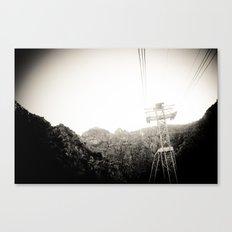 Deep Breathing Canvas Print
