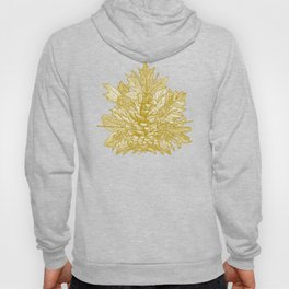 forest floor gold ivory Hoody
