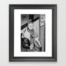 No Stopping Framed Art Print