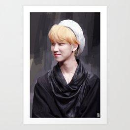 cloak | minghao Art Print