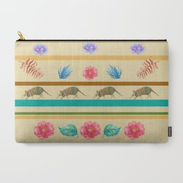 Armadillo Pattern Carry-All Pouch
