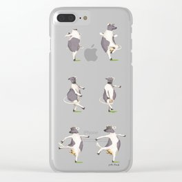 The Cow Clear iPhone Case