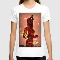 devil T-shirts featuring Devil by Eve Divyn