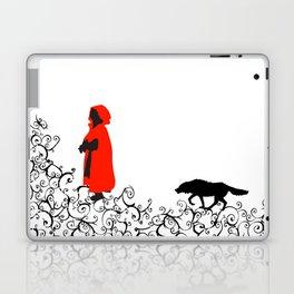 Little Red - White Laptop & iPad Skin