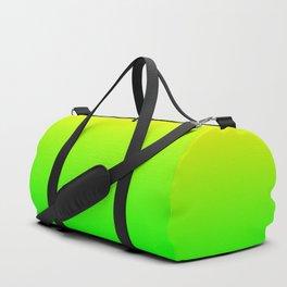 Neon Yellow/Green Ombre Duffle Bag