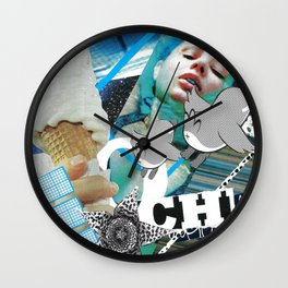 Deja Vu Again Wall Clock