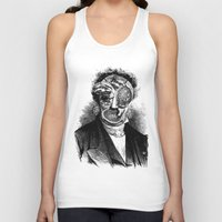 meat Tank Tops featuring MEAT by DIVIDUS DESIGN STUDIO