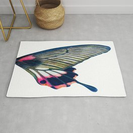 Butterfly right wing - find the left wing in my store :) Rug
