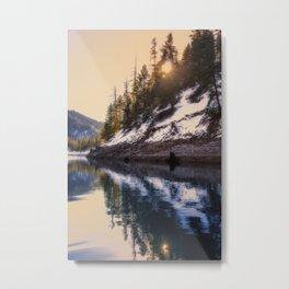 Reflections of a Dream Lake McCloud California Metal Print