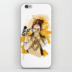 Kumbh Mela India Sadhu iPhone & iPod Skin