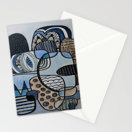 Orderly Rocks Stationery Cards
