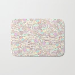 The Sweet Forest Pattern Bath Mat