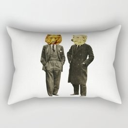 The Likely Lads Rectangular Pillow