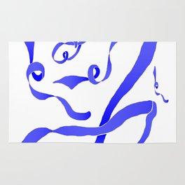Blue Ribbon Rug