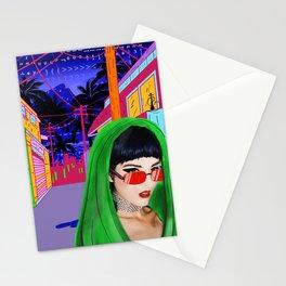 SITA walks home alone at night Stationery Cards