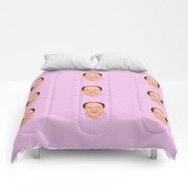 George Costanza pattern Comforters