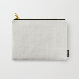 Coconut Milk - Fashion Color Trend Spring/Summer 2018 Carry-All Pouch