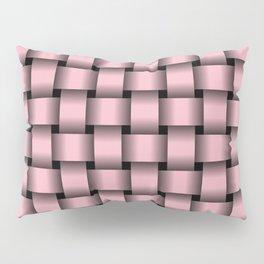 Light Pink Weave Pillow Sham