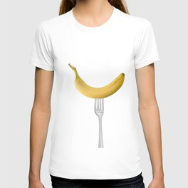 Bananas Pattern - white T-shirt