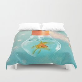 Goldfish Ideas Duvet Cover