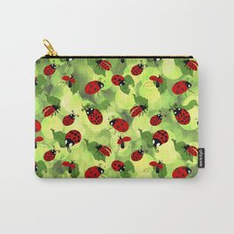 Ladybug Bubbles Carry-All Pouch