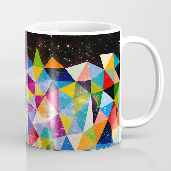 Space Shapes Coffee Mug