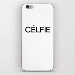 Celfie iPhone Skin
