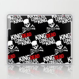 The King is dead. Long live the King. Laptop & iPad Skin