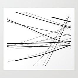 Urban Abstract III Art Print