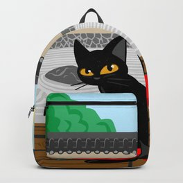 Japanese garden Backpack