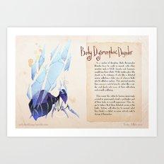 Real Monsters- Body Dysmorphic Art Print