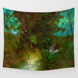 Robin's Nest. Wall Tapestry