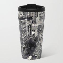 Lower Manhattan Travel Mug