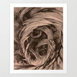 Caves within Caves Art Print
