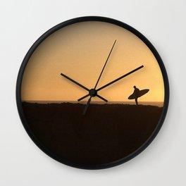 Santa Cruz Surfer Wall Clock