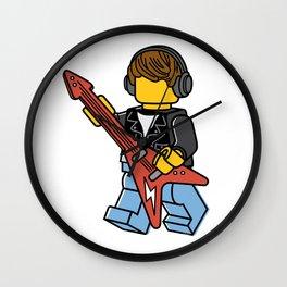 Guitarist Wall Clock