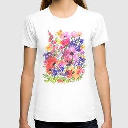 Summer's Country Garden T-shirt