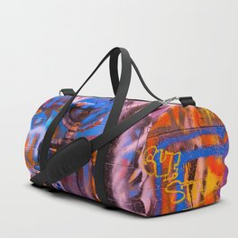 Camouflaged Pipework Duffle Bag