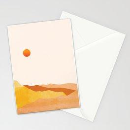 Desert Sun 01 Stationery Cards