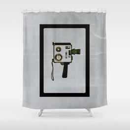 Super 8 Super Fly Shower Curtain