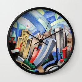 Twin Cities Wall Clock