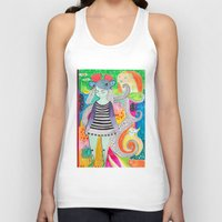 rubyetc Tank Tops featuring burst by rubyetc