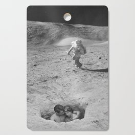 Lovers on the Moon Cutting Board