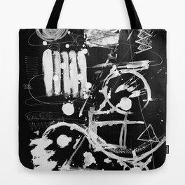 composition n°1 négatif - mathéo Tote Bag