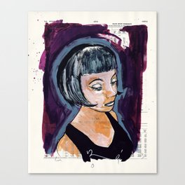ladyfox Canvas Print