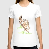 hare T-shirts featuring Hare by Simon Boulton