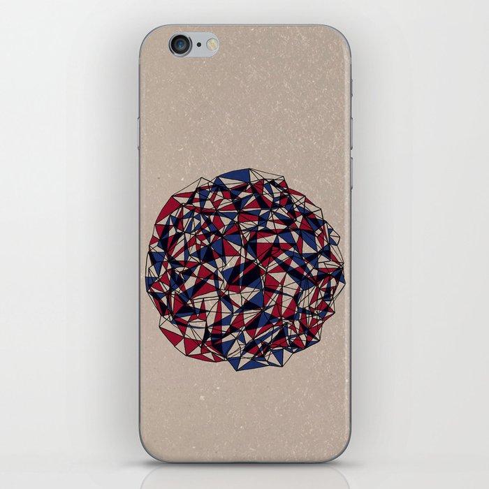 - red blue - iPhone Skin