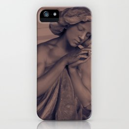 Silent Prayer iPhone Case