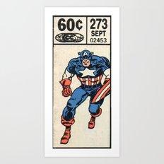 60 Cent Cap Art Print